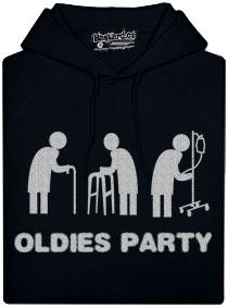 Dámská mikina - Oldies party