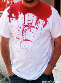 Tričko s potiskem Headshot