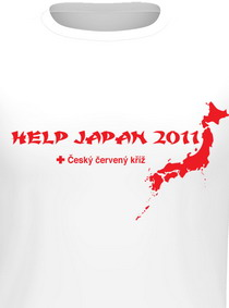 Tričko Help Japan
