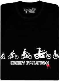 Tričko Bikers Evolution