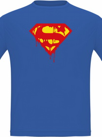 Tričko Krvavý Superman
